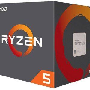 CPU AMD RYZEN 5 1600 3.60GHZ 6-CORE WITH WRAITH SPIRE BOX