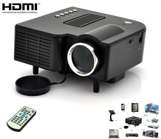 Mini Led Projector με Θύρες HDMI /SD/ USB/ AV/ VGA ΟΕΜ