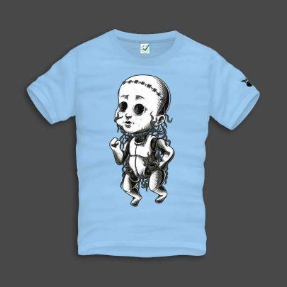 Scary Baby Men T-Shirt
