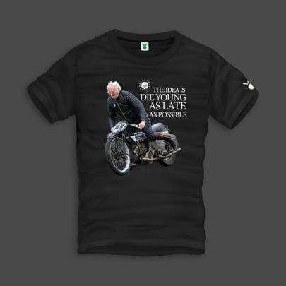 Die Young As Late Men T-Shirt