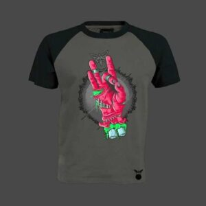 Zombie Part 3 Baseball T-Shirt