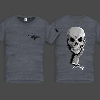 Terror33 Men Back Print T-Shirt