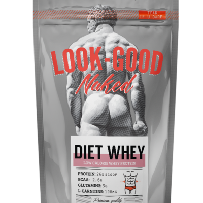 Diet WHEY Πρωτεΐνη Chocolate (908g) - LookGoodNaked
