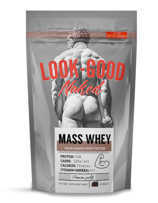 Mass Whey (908gr) Chocolate - LookGoodNaked