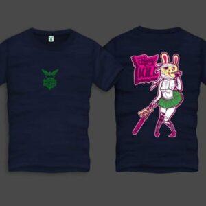 Bunny Men Back Print T-Shirt