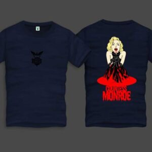 Monroe Men Back Print T-Shirt