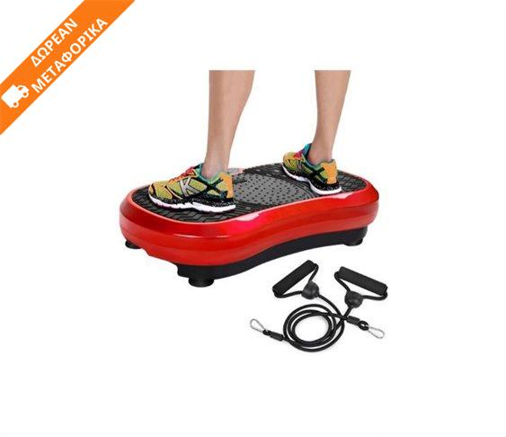 Πλατφόρμα Step Παθητικής Γυμναστικής με Δόνηση για Όλο το Σώμα (Κόκκινο) HOP1000755-1