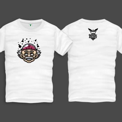 Einstein2 Men Back Print T-Shirt