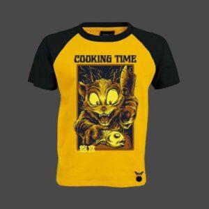 Cooking Time Baseball T-Shirt