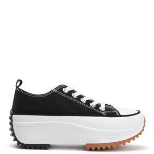 Sneakers Δίπατα Μαύρα