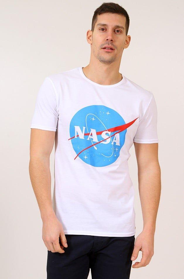 Ανδρικό T-shirt Nasa White