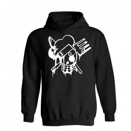 Φούτερ One Piece - Sanji Skull Hoodie