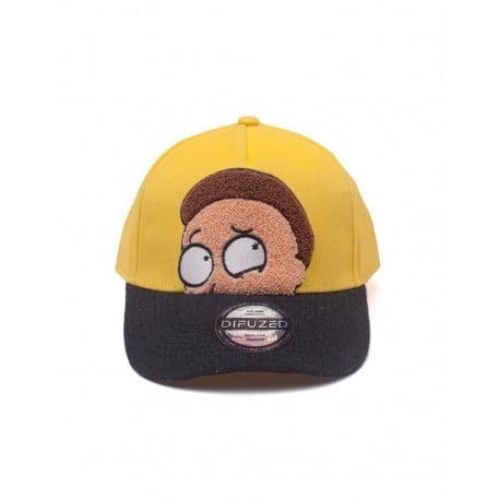 Καπέλο Rick And Morty Morty Chenille 2D Curved Bill Cap Γαλάζιο
