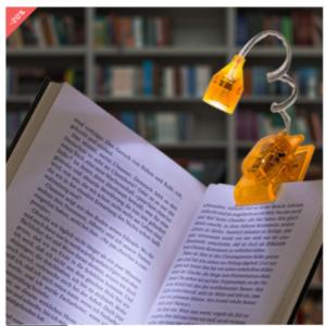 Eυέλικτο LED φωτάκι ανάγνωσης