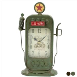 Ρολόι αντλία βενζίνης τοίχου επιτραπέζιο - 36,5 εκ.
