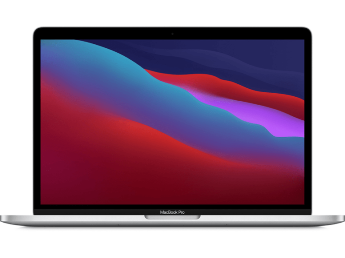 """Apple MacBook Pro 13.3"""" with M1 Chip (Apple M1/8GB/256GB SSD) - Silver"""