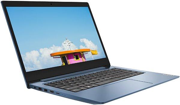 LAPTOP LENOVO IDEAPAD 1 81VU000JUS 14'' HD INTEL PENTIUM SILVER N5030 4GB 128GB SSD WINDOWS 10S