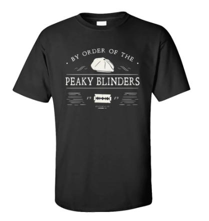 Fitness Tops Guys T Shirt Short Sleeve Men's T-Shirt Peaky Blinders Custom Lovers Day Top T-shirts Round Neck Tshirt Classic