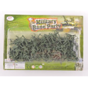 BW Στρατιωτάκια Military Base Party (914-RH201)