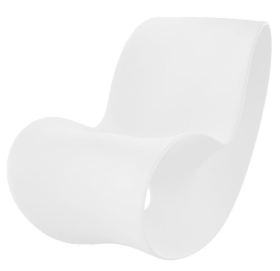 Κουνιστή Πολυθρόνα Voido (Λευκό) - Magis