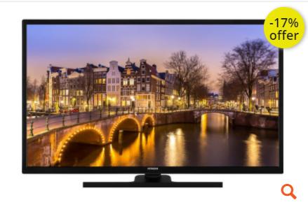 """Τηλεόραση 32"""" Hitachi 32HE2100 Smart LED HD Ready"""