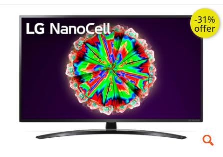 """Τηλεόραση LG 50"""" Smart NanoCell 4K UHD 50NANO796NE"""