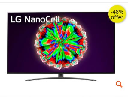 """Τηλεόραση LG 55"""" Smart NanoCell 4K UHD 55NANO816NA"""
