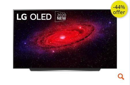 """Τηλεόραση LG 55"""" Smart OLED 4K UHD OLED55CX6LA"""
