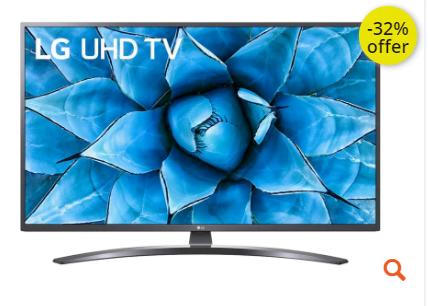 """Τηλεόραση LG 50"""" Smart LED 4K UHD 50UN74006LB"""