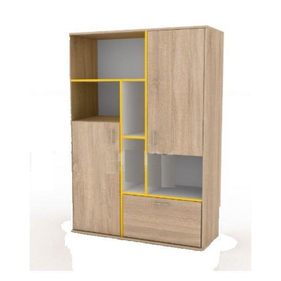 Ντουλάπα για παιδικό δωμάτιο, 3021, 100x164x42.5, Genomax
