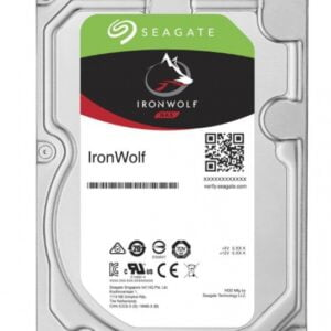 Seagate Ironwolf, 4tb, Nas, 3.5-inches, Sata Iii, 5900rpm 64mb Cache (st4000vn008)