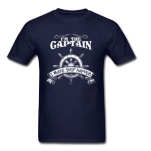 One Piece Pirate T Shirt Men Male Clothes Navy Blue Tops