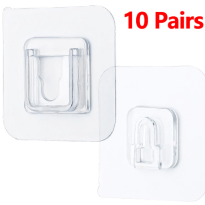 Double-Sided Adhesive Wall Hooks Hanger