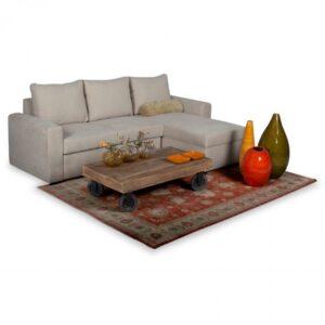 Γωνιακός καναπές κρεβάτι αποθηκευτικό χώρο