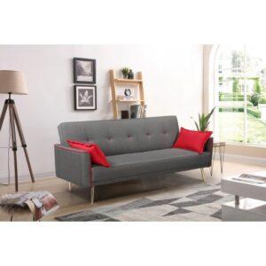 Διθέσιος Καναπές - Κρεβάτι, DEAN, 85/220/84-107, Evromar
