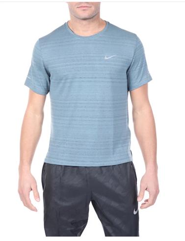 Ανδρική μπλούζα NIKE μπλε Dri-FIT Miler
